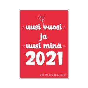 Uusi vuosi ja uusi minä 2021
