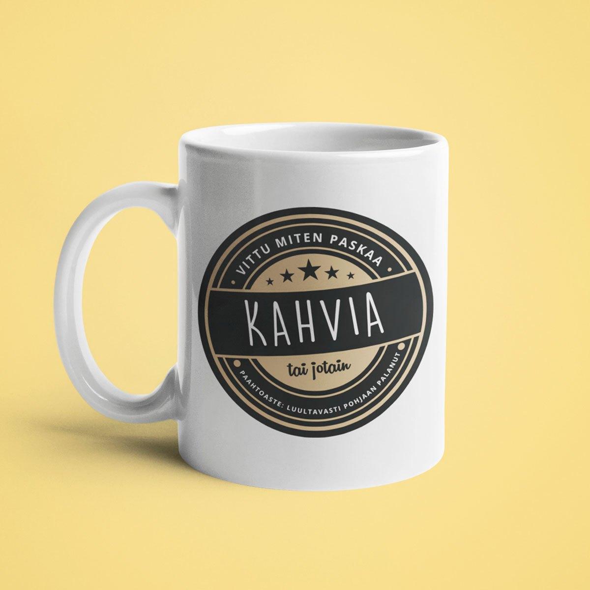 Keitä ite saatana kahvikuppi