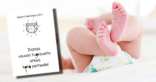 vauvaonnittelukortti