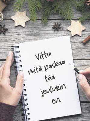 paskakauppa joulukortti