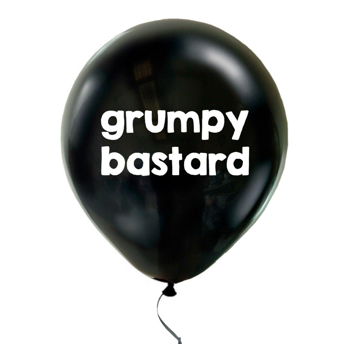 Hymy korvissa ilmapallo Paskakauppa Grumpy bastard