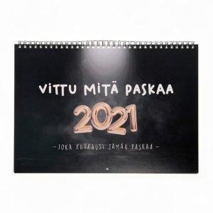 Kalenteri 2021, Vittu mitä paskaa seinäkalenteri 2021